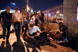 Střelba v Las Vegas.