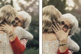 55 let staré šaty ožily díky renovaci, nevěsta chtěla překvapit svou babičku