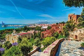 Pohled naměsto Málaga
