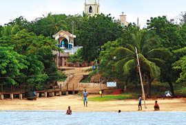 Togoville - zdejší kostel navštívil ipapež Jan Pavel II.