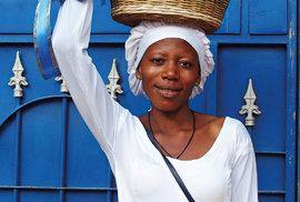 Ženy se starají odomácnost ataké chodí prodávat natrh