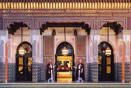Hotel La Mamounia v marockém Marrákéši