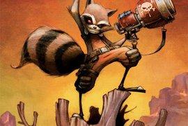 Rocket. Obálka komiksového alba.