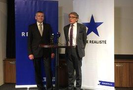 Prezidentský kandidát Jiří Hynek byl nominován stranou Realisté, kterou založil Petr Robejšek. V parlamentních volbách strana propadla