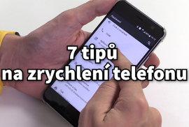 Zpomaluje se vám telefon s androidem? Tady je 7 jednoduchých tipů, jak ho zrychlit