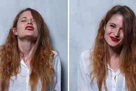 Před, během a po orgasmu: Erotikou nabité portréty dívek během chvil nejvyšší rozkoše