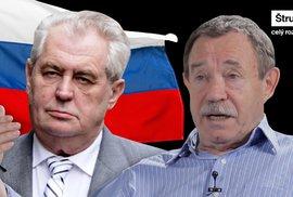 """Fištejn: Znovu hrozí ruská """"bratrská pomoc"""", Zemanovy šance po volbách vzrostly"""