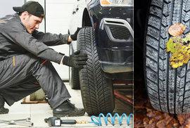 Přezouvání pneumatik na zimu: Kde Češi dělají chybu?