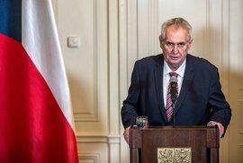 Karel Steigerwald: Diktátor Zeman? Ne, prezident jen nezodpovědně tlachá