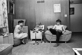 Král rock´n´rollu Elvis Presley v roce 1956.