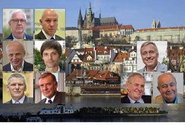 Průzkumy preferencí prezidentských kandidátů: Zeman, Drahoš a ti ostatní
