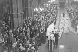 Svatební fotografie ze 20. listopadu 1947