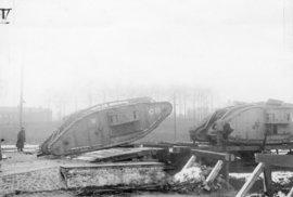 Operace u Cambrai: V listopadu 2017 britská armáda poprvé ve velkém nasadila tanky.