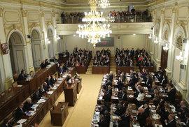 Ustavující schůze Sněmovny