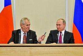Jak pracuje prezident. Zeman – USA: Špatně. Zeman – Rusko: Špatně. Zeman – Čína: Špatně