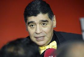 Legenda světového fotbalu Diego Maradona