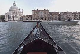 Benátky na vlastní kůži: Projeďte se v gondole a rozhlédněte se v jedinečném 360° videu