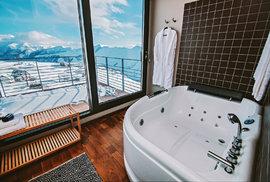 Hotel Quadrum v kavkazských horách