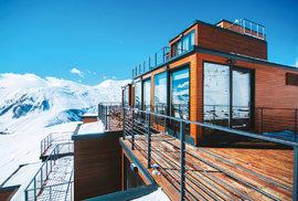 Hotel Quadrum vkavkazských horách