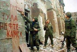 Ojedinělé fotografie z druhé čečenské války.