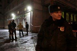 Výbuch v supermarketu v Petrohradě: Desítka zraněných kvůli podomácku vyrobené bombě