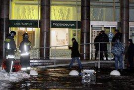 Výbuch v Petrohradu: 10 zraněných je v nemocnici
