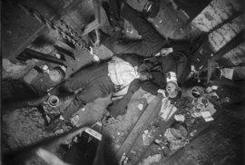 Snímky mrtvých ve městě New York