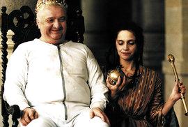 Marián Labuda a Lucie Bílá ve filmu Král Ubu