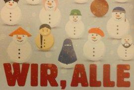 Německá multikulti propaganda: I sněhuláci jsou muslimové!