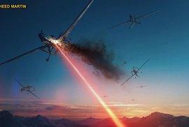 Laserové dělo pro letadla. Americká armáda bude brzy mít stíhačky s paprskomety