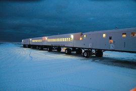 Pojízdný hotel Tundra Lodge: Vychutnejte si polární safari z tepla svého pokoje