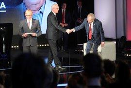 3 televizní prezidentské debaty = 3 tragické výkony moderátorů a fatální selhání
