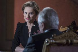 Předvolební debatu moderovala v Rudolfinu Světlana Witowská. Za svůj výkon sklidila velkou chválu