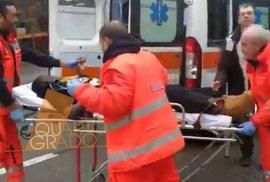 Ital z auta střílel do afrických imigrantů. Těžce zranění mohou být mstou za nedávnou smrt mladé dívky