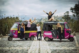 Tuktukem Jižní Amerikou - výprava pěti Češek z Kolumbie až na největší solnou pláň světa 2017