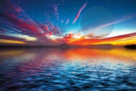 Vesmír může být plný vodních světů