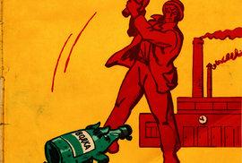 Jak se sovětská propaganda snažila odradit od nadměrného pití vodky