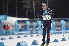 Slovenská závodnice Anastasia Kuzminová vybojovala ve stíhacím závodě žen na olympiádě v Koreji stříbrnou medaili