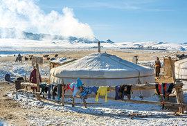 Zimoviště Mongolů