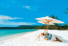 Kambodžské pláže
