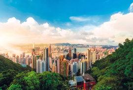 Pohled na Hongkong z Victoria Peak
