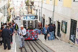 """Typické lisabonské tramvaje mají kořeny vUSA adříve se nazývaly """"americanos"""""""