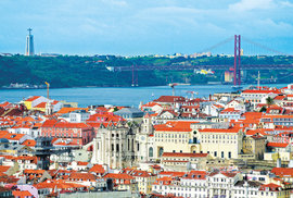Lisabon: Do portugalské metropole za rekordy a na panáka višňovice