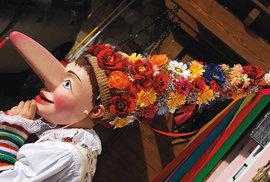 Bláznivý karneval prochází každý rok městem Campitello