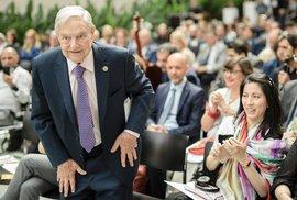 Americký finanční George Soros