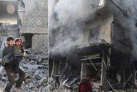 Skutečné peklo na zemi: Nejvyšší počet obětí za posledních pět let, bombardování nemocnic. To je Sýrie