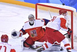 Česko vs. Rusko 0:3. Přímý přenos hokejového semifinále na olympiádě jsme sledovali online