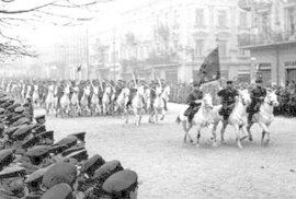 Přehlídka Rudé armády ve Lvově, 1939 - Ilustrační snímek.