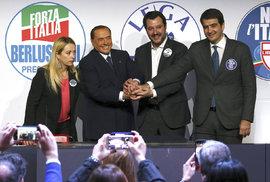 Italské volby ONLINE: Poražena je stará levice i Berlusconi. Politickou mapu překreslily protestní hlasy