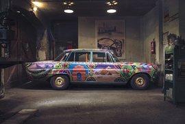 """Fotografická skupina """"WE! shoot it"""" ale zveřejnila sérii snímků, které ukazují to nejlepší z galerie úžasných starých vozů v netradičním prostředí"""